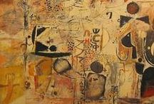 Artist -  Wosene Worke Kosrof / Born in Ethiopia in 1950, Wosene Worke Kosrof is a contemporary artist of international acclaim. Best known for his inventive renderings of the Amharic script—one of the oldest indigenous to Africa