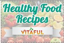 """Healthy Food Recipes / From Low-Calorie Dinner Recipes to Delicious Fat-Free Snack Ideas! This Board Includes All Healthy Food Recipes, Clean Eating Recipes and Delicious Food Ideas! To Join This Board Follow Our """"Vitaful"""" Page and Comment On Our Most Recent Pin."""