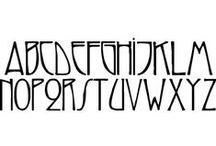 Art decco Fonts