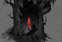 Illustr - Little Red Riding Hood.