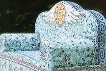 mosaic seats