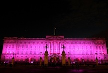 Pink London / On 1st October 2012, Breast Cancer Campaign launched Breast Cancer Action Month with the help of a few London landmarks. The buildings agreeing to glow pink for a night were: Buckingham Palace, Somerset House, Tower of London, Tower 42, Heron Tower, Nelson's Column, Trafalgar Square, and the BT Tower. Members of the public sent us these photos from the night.  / by Breast Cancer Now