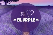 Blurple! / Colour can make or break those awesome images you take on your travel. We love these pins of our signature blue and purple combo, well, blurple really.
