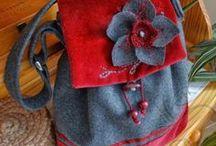 táskák és mindenféle tartók/purses, bags and totes ideas
