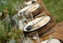 Farm to Table Entertaining Ideas / Farm to Table Entertaining and Table Decor Ideas for family dinners to weddings. Always buy organic, local, and sustainable whenever possible.