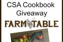 Farm to Table Giveaways / Make sure to head over to www.farmtotablela.com and check out the great giveaways we have, highlighting supporting local food artisans and other great things!