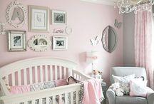 Nursery / Nursery design ideas, DIY wall art decor, some beautiful designs and just cute things.