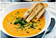 [ Soups ] / Delicious chowders, creamy or chunky soups!