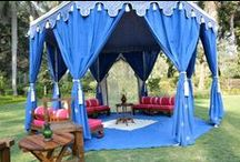 Garden Tents / GargTent - Presenting whole new beautiful recreational garden tents in a range of four small tents with five stunning lining options.