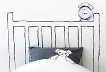 PIET ♥ HOOFDEINDEN / Meer karakter en stijl in je slaapkamer? Pak de hoofdeinden van je bed aan. Die geven je slaapplek allure.