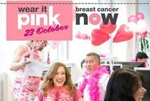 wear it pink 2015 / We've got big plans to stop women dying from breast cancer. We want to make sure that, by 2050, no one loses their loved ones to it. So put together some big plans of your own for the most vibrant fundraising event of the year...#wearitpink! Sign up today at wearitpink.org / by Breast Cancer Now