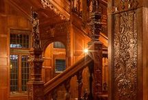 The Castle Staircases. / Please pin to your hearts content.