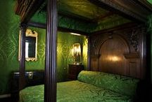 The Castle Bedrooms. / Please pin to your hearts content.