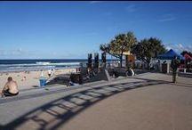 Rodei em Gold Coast / Dicas de Gold Coast, Austrália: onde ficar em Gold Coast, onde comer em Gold Coast, o que fazer em Gold Coast, praias de Gold Coast e pins lindos de Surfers Paradise, Broadbeach, Coolangatta e outras praias