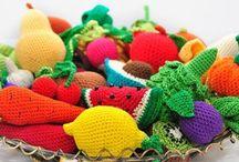 Amigurumi - Food / Crochet patterns and inspiration for amigurumi food