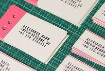 Branding // Stationery Design / by Bianca Guebel