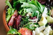 Food // Salads / by Katie Ledbetter