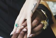 ink on skin / tattoos.