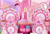 1st Birthday Girl Party Ideas / Planning a first birthday party for a girl? We've you covered with 1st birthday party ideas, decorations and supplies for your daughter's first birthday party!  / by Birthday in a Box