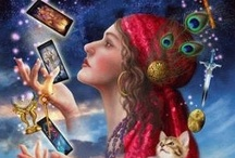 *Favourite Tarot Cards & Runes* / I read the Tarot & have a large collection of Tarot Cards.. I am honestly addicted to the cards.