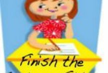 Finish The Sentence Friday / This board is for posts from the blog link-up Finish the Sentence Friday.