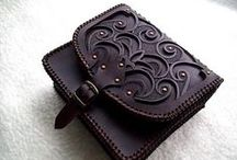 Leather Arts & Crafts / by Mo Carlson