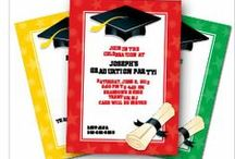 Graduation Party Ideas / Graduation party ideas - decorations, invitations, tableware and favors. See more party ideas at BirthdayInaBox.com. / by Birthday in a Box