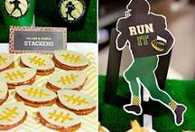 Superbowl Party Ideas / Check out these recipes, themes and activities for your next Superbowl Party / by Birthday in a Box