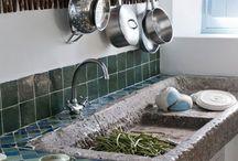 Cabin Home - Kitchen ideas