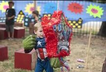 Avengers Birthday Party Ideas / Since every kid is just a super hero in disguise, let them reveal their SUPER selves for their next birthday party! Throw a party that has the villains on the run! / by Birthday in a Box