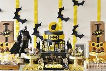 Batman Birthday Party Ideas / Fans of the Dark Knight rejoice! Here you'll find inspiration for all aspects of your child's upcoming Batman themed birthday party. / by Birthday in a Box