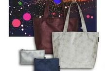 Anzea Tote Bags / This album shows Anzea's fabrics as tote bags and cosmetic bags