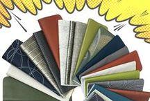 Faux Leather / Anzea's faux leather/coated fabrics board