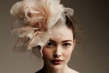 Accessory on the head / Flowers, headband on the head / by Nadin Knk