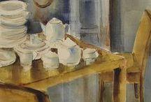 pinturas de interiores / Pinturas de decoración, interiores, mobiliario.