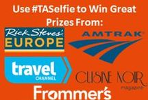 #TASelfie Contest / Head to our Facebook page, www.facebook.com/TravelandAdventureShow, to enter your best selfie to win great prizes! / by Travel And AdventureShow