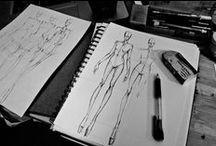 fashion sketchbook. / sketches, sketchbook, fashion portfolio, fashion sketches, fashion design