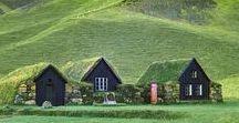 Through green Hills and Valleys / durch grüne Hügel, Wiesen und Täler ...