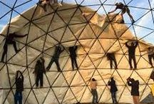 domes / geodesic domes, dome types, traditional domes, geometry