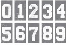 NUMBERS / Numbers, nummers