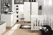 Babykamer jongen zwart wit