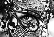 FACES / Faces, gezichten, zwart wit