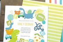 Baby Shower Invitations / Invitations for your little one to be / by Oubly - Custom Printing