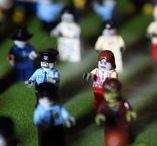 Return Of The Lego Zombies / As if a plane crash wasn't traumatic enough...the poor, unfortunate victims are now being attacked by the undead masses.