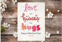 Valentine's Day Cards / An assortment of cute Valentine's Day themed cards created by our team of designers.