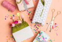 Spring Craft Ideas / With the holidays over, spring is right around the corner. View some of the fun crafts you can make for this cheery time of the year.