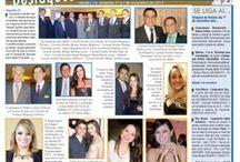 Coluna Social / Coluna Destaques do jornal Folha 670