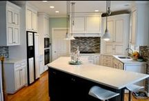 Kitchen Cabinet Inspirations and Makeovers