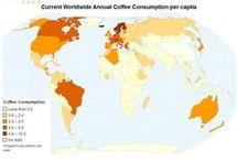 Coffee Around The world / Different Coffee, from around the world