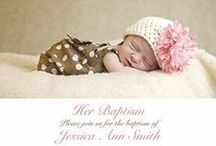 Baptism Invitations  / by Oubly - Custom Printing